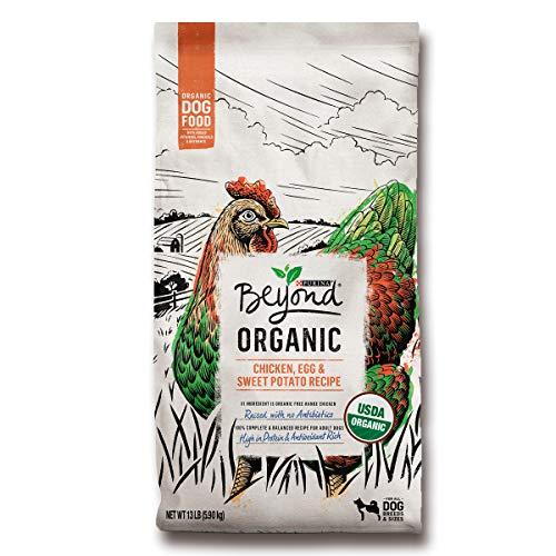 Purina Beyond Organic, High Protein Dog Food, Organic Chicken, Egg & Sweet Potato Recipe - 13 lb. Bag
