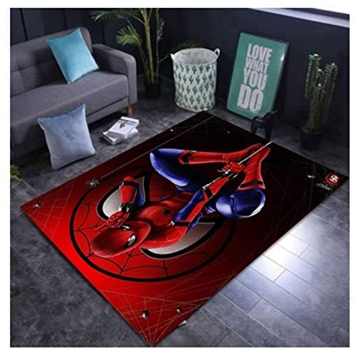 WallDiy Alfombras para habitación de niños, Corredor de Alfombra, Alfombra para área de habitación para niños Spiderman