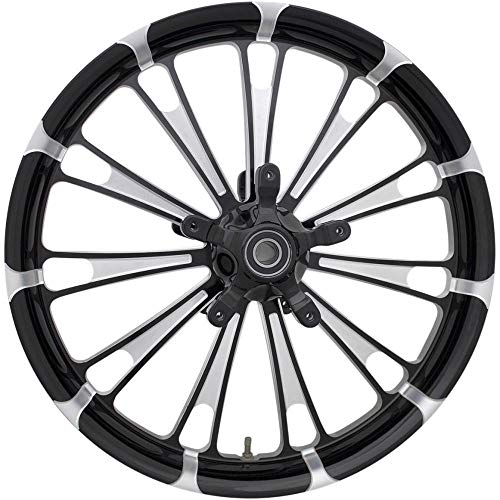 Coastal Moto 2502-FUL-263-BC Moto Forged Fuel Aluminum Front Wheel - 26in.x3.75in. - Black