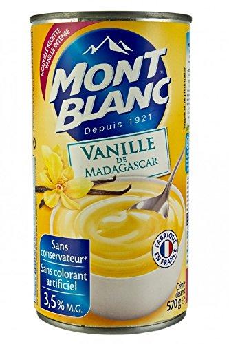 Mont Blanc Creme Vanille de Madagaskar Vanille Dessert Creme