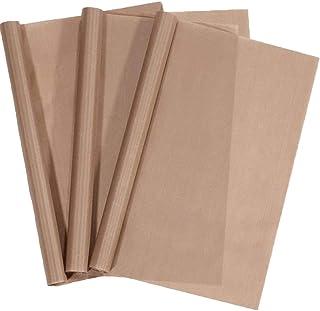 """3 Pack PTFE Teflon Sheet for Heat Press Transfer Sheet 16"""" x 12"""" Non Stick Heat Transfer Paper Washable Reusable Heat Resi..."""