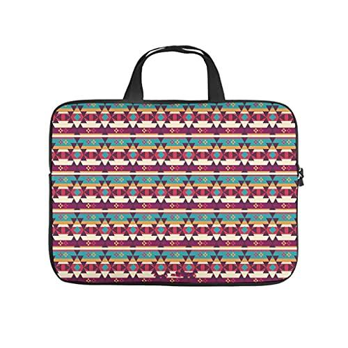 Native American Geometrie - Funda para portátil (resistente a los golpes), multicolor
