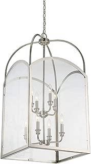 Savoy House 3-3057-8-109 Garret 8-Light Foyer in Polished Nickel