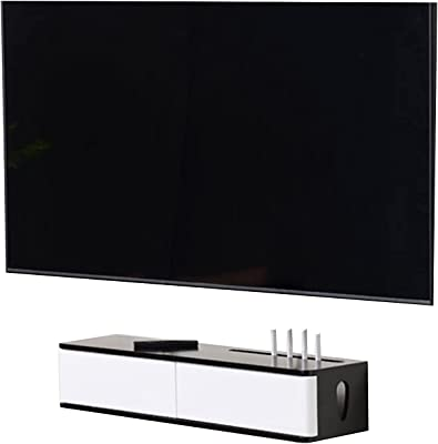 Free Installation of TV Cabinet Set-top Box, Solid Wood TV Stand Console, Suitable for Any Background Wall, Complete Installation (Size : 80cm)
