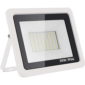 A0ZBZ Luz de inundación Led 30W Luces de seguridad para reflector ...