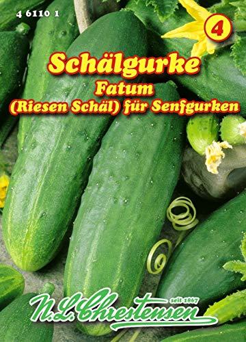 Schälgurke' Fatum, (Riesen Schäl) Senfgurken N.L.Chrestensen Samen 461101-B