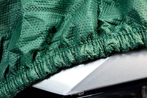 SOFTGARAGE Slim fit 3-lagig grün Indoor Outdoor atmungsaktiv wasserabweisend car Cover