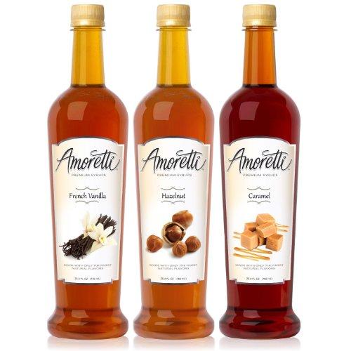 Amoretti Premium Syrups Classic 3 Pack (750ml)