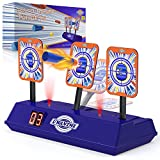 UWANTME Electric Target Scoring Auto Reset Shooting Digital Target for Nerf Guns Blaster