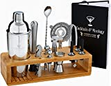 Cocktail Mixology Shaker Set by Royal Reserve...