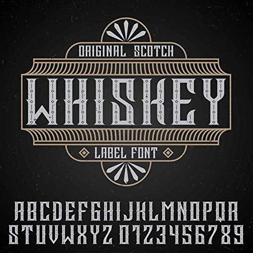 Carteles de chapa de metal Placa de whisky Retro Bar Pub Placas decorativas Pegatinas de pared de vino 30x30cm Azul marino