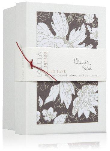 LOLLIA In Love Perfumed Shea Butter Boxed Soap, 8.75 oz