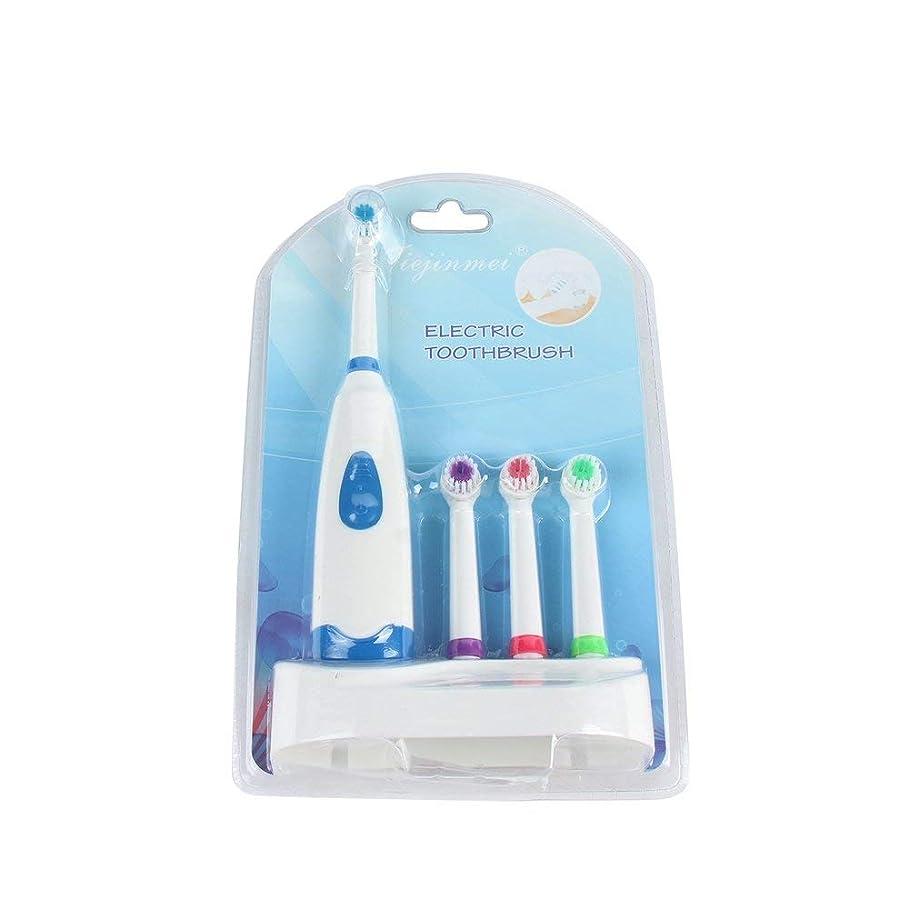 沈黙ピグマリオン変形4歯ブラシヘッドのバスルームを備えた電気オーラルケア歯ブラシの交換