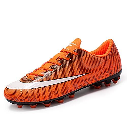 LDTSUP Zapatillas de Fútbol Hombre Profesionales Training Botas de Fútbol Aire Libre Atletismo Zapatos de Deporte