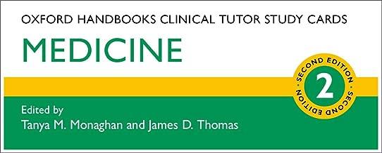 Oxford Handbooks Clinical Tutor Study Cards: Medicine (Oxford Handbooks Study Cards)