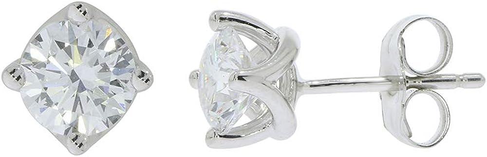 Elmas 1 4ct Lab Grown IGI Spring new work prong Stud OFFicial Certified Earring Diamond 4