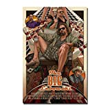 The Big Lebowski Classic Movie Film Poster Canvas Wall Art Print No Frame (24 X 36)
