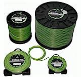 Sharkcut - Filo per decespugliatore professionale, in alluminio, filo di nylon, rotondo, 3 mm, diverse lunghezze