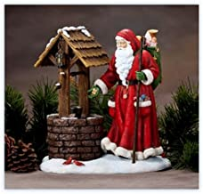 Precious Moments Wishing Well Santa Santa at Wishing Well Figurine