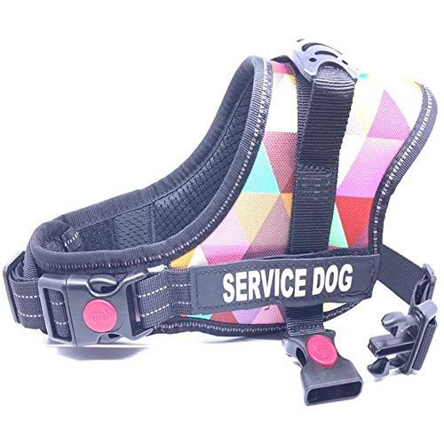 KIU borstband eenvoudige bediening voor kleine, middelgrote honden huisdiertuig hondenharnas instelbaar buiten explosiebeveiligd