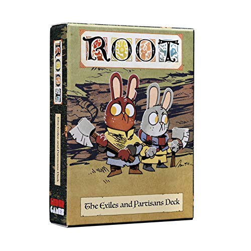 Leder Games: Root - The Exiles and Partisans Deck