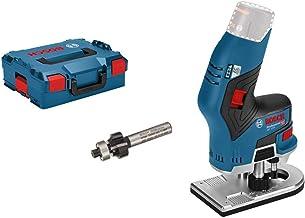 Bosch Professional 06016B0001 GKF 12V-8 (zonder accu, 12 V, Spannzangen-Ø: 6 mm / 8 mm, in L-BOXX)