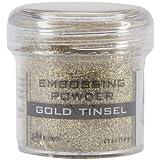 Goffratura Polvere 1Oz Jar-Oro Tinsel