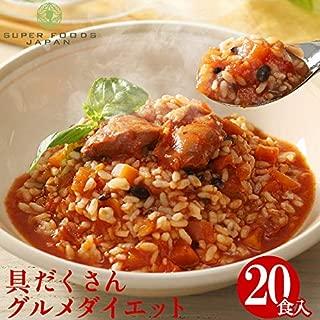 グルメダイエット 十八穀米のスープリゾット 4食入×5袋