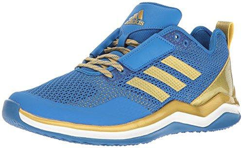 adidas Performance Men's Speed Trainer 3.0, Blue/Metallic Gold/White, 5.5 Medium US