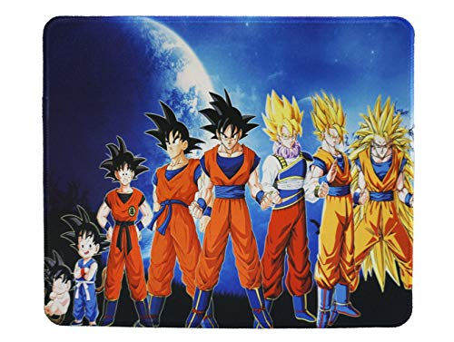 12x10 Inch Dragon Ball Super Z Son Goku Gaming Collection Office Mouse Pad Non Slip Rubber Mouse mat