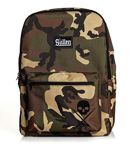 Sullen Unisex Standard Issue Backpack Bag Camo Green