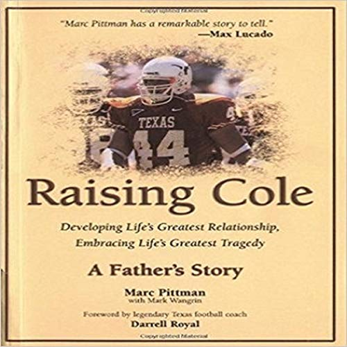 Raising Cole: A Father's Story audiobook cover art
