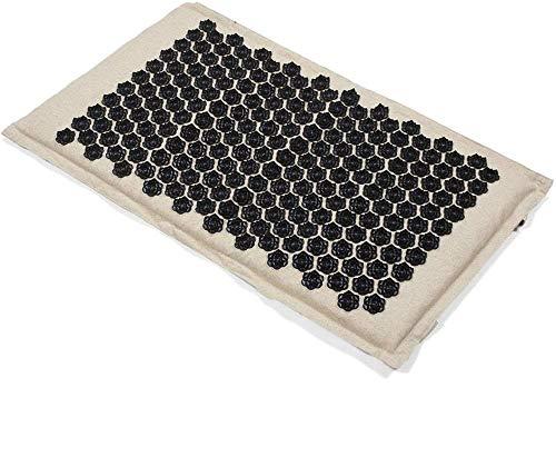 ARONG Regalo Yoga Mat, 75 * 44 Centimetri Lotus Spike Yogitoes Yoga Mat, Tela Naturale Organico Agopuntura Yoga Mats, for la Terapia Relief Back/Neck/Dolore Pilates Yoga per Principianti