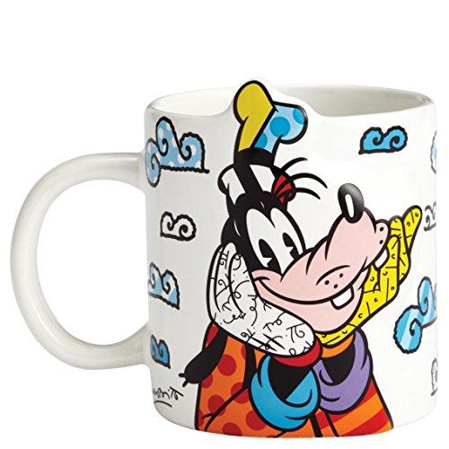 Disney Britto Goofy Taza de cerámica, multicolor, 8 x 8 x 9 cm