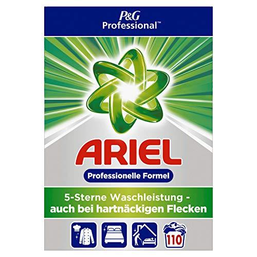 Ariel Professional Vollwaschmittel Pulver Vollwaschmittel 7,15kg– 110Waschladungen
