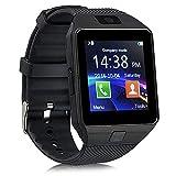 e-commerce coppola DZ09 Smart watch (Supporto Italiano) orologio Bluetooth Android orologio della salute con TouchScreen e fotocamera,slot per scheda SIM TF,per smartphone Android e iPhone iOS