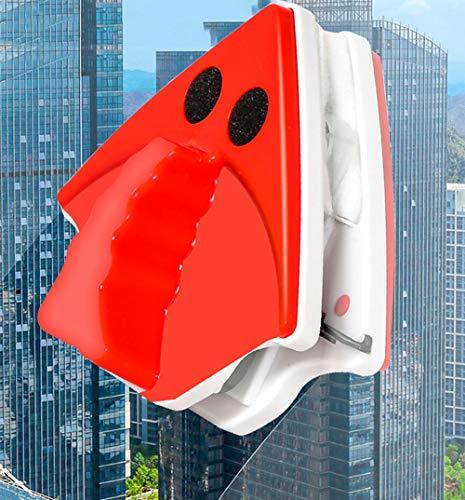 LZH FILTER Fenêtre Essuie-Glace en Verre Magnétique, Professionnel Intelligent Main Anti-Pincement, Couche Double Creux Verre Propre, Double Face Outil de Nettoyage 18-30 MM Verre d'épaisseur