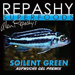 Repashy's Soilent Green food is recommended for feeding goldfish