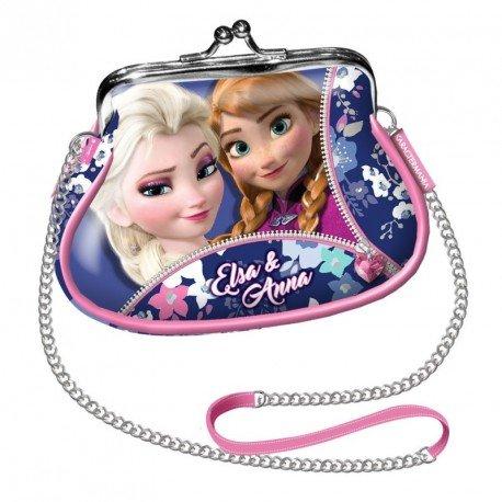 Frozen Zipper Messenger Bag, 11 cm, Pink (Rosa)
