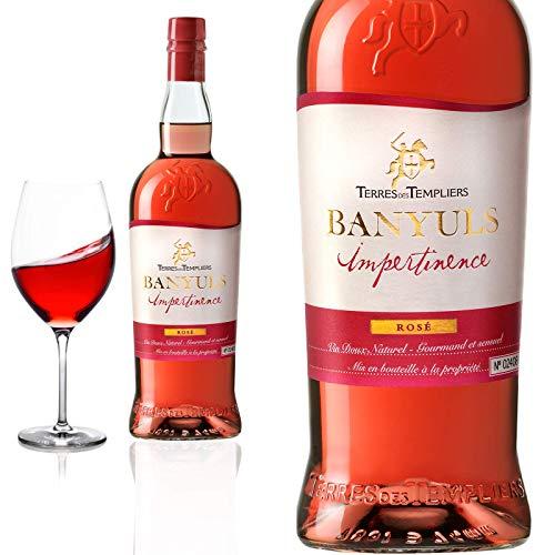 Banyuls rosé »Impertinence« demi-doux Terres des Templiers - Roséwein, Prämiert