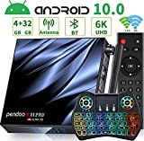 Android TV Box 10.0,[2020 Newest] Pendoo X11 PRO Android 10.0 TV Box 4GB