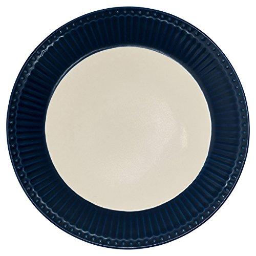 Assiette en porcelaine, Alice Dark Blue de Green Gate