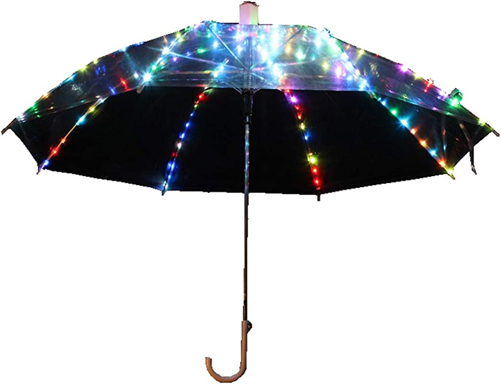 OFFicial mail order In stock Belly Dancing Umbrella LED Fl Luminous Transparent with