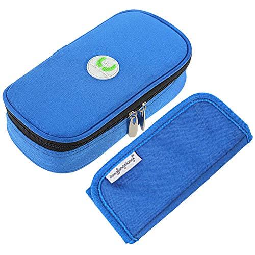 Aranticy Insulin Kühltasche, Diabetikertasche Insulin Taschen Organisator Medikamenten Kühltasche Diabetiker Tasche tragbar Medical Reisen Kühler Fall für Medikamente Thermotasche Insulin Cool Bag