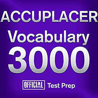 Official ACCUPLACER Vocabulary 3000 cover art