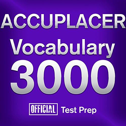 Official ACCUPLACER Vocabulary 3000 audiobook cover art