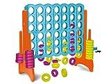FEBER Famosa 800009460 4 in Line - Kinderaktivitätszentrum 4 in line, für Kinder von 3 bis 8...