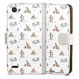 DeinDesign Étui Compatible avec LG Q6 Plus Étui Folio Étui magnétique Winnie l'ourson Disney...