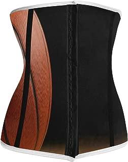 Waist Trainer for Women,Classic Book Pattern Underbust Corset Slimming Body Shaper Belt/Cincher/Trimmer Weight Loss