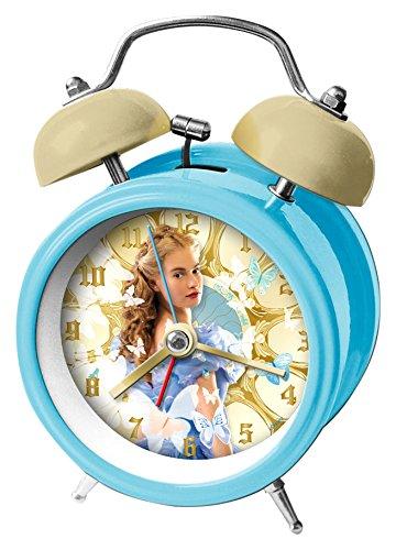 Disney- Wecker Cinderella Live, 9 cm, WD16447